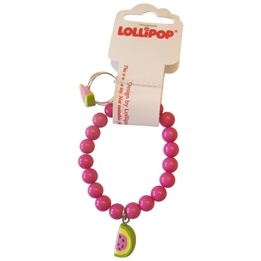Lollipop - Armband & Ring set - Cerise