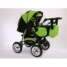 Baby Merc - Agat 2 In 1 kombibarnvagn - grön