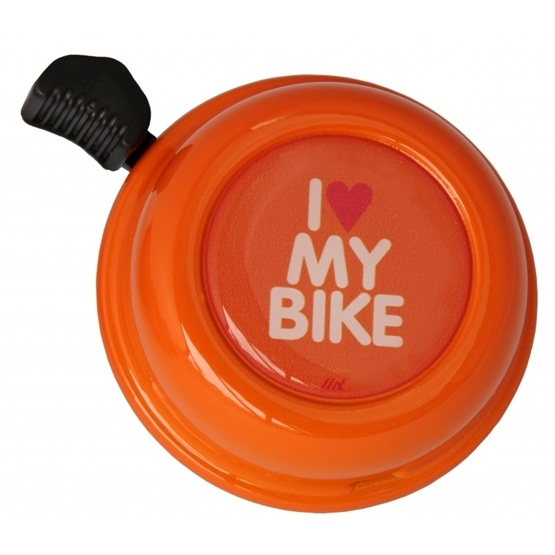 Liix - Liix Colour Bell I Love My Bike Orange