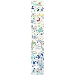 Djeco - Wallpaper Strip, Blue Savannah