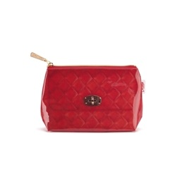 Catseye - Red Quilted Small Bag