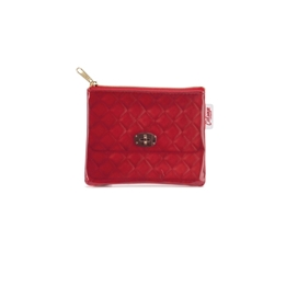 Catseye - Red Quilted Coin Purse