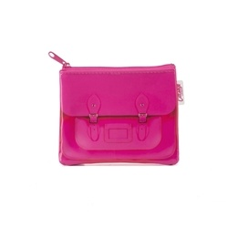 Catseye - Fluoro Pink Satchel Coin Purse