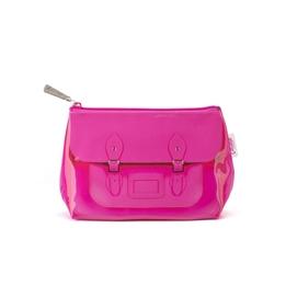Catseye - Fluoro Pink Satchel Small Bag