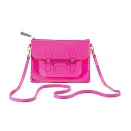 Catseye - Fluoro Pink Small Cross Body Bag
