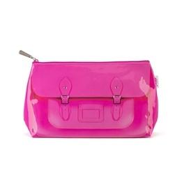 Catseye - Fluoro Pink Satchel Washbag