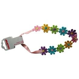 Lollipop - Bandeau med blommor