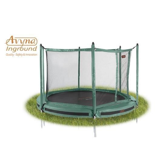 Avyna - Inground Pro Line 8 Grön - Rektangulär -