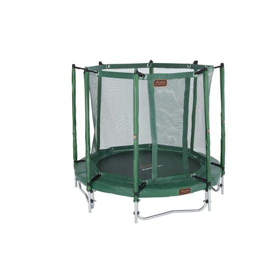 Avyna - Powerjumper 6 - Trampolin Grön - Komplett Paket - 200 Cm