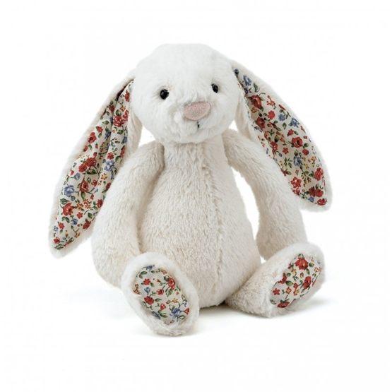 Jellycat - Bashful Blossom Cream  Bunny