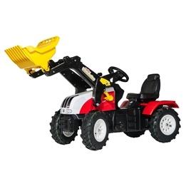 Rolly Toys - Rollyfarmtrac Steyr Cvt 6225 - Rollytrac Lader - Pneumatic Wheels