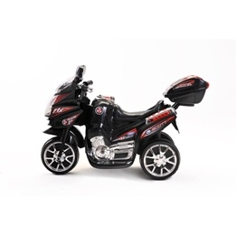 Azeno - Elmotorcykel - Night Rider - Svart