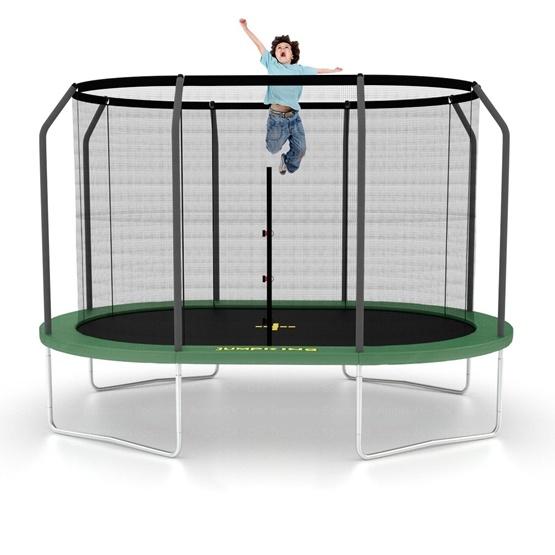 Jumpking - Studsmatta - Delux Oval - 350x244Cm