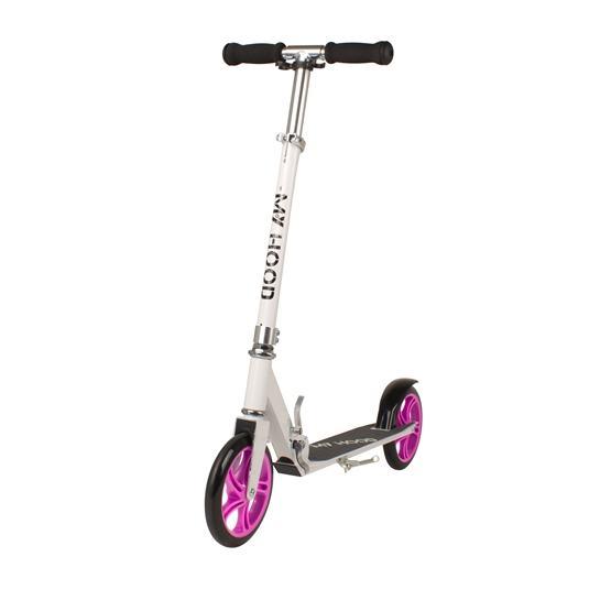 My Hood - Sparkcykel - 200 - Vit/Rosa