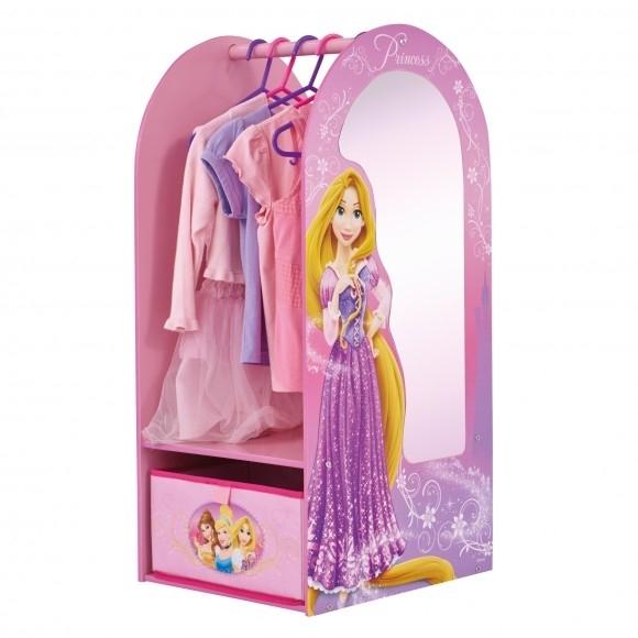 disney princess garderob med spegel. Black Bedroom Furniture Sets. Home Design Ideas