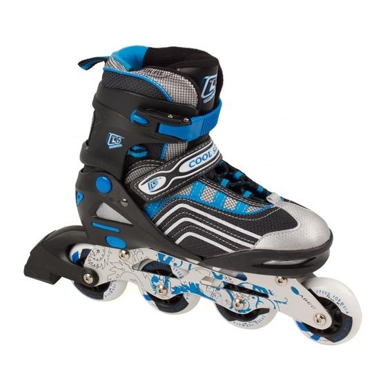 Coolslide - Inlines - Coolslide Rollers - Blå - Str 35-38