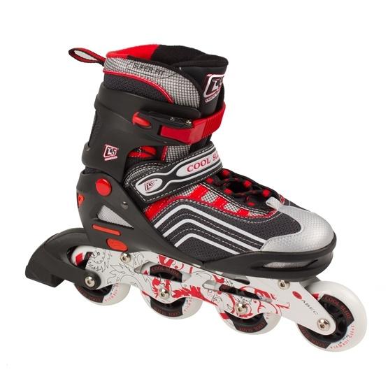 Coolslide - Inlines - Coolslide Rollers - Röd - Str 31-34
