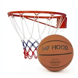 My Hood - Basketkorg Med Boll