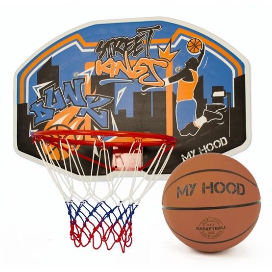 My Hood - Basketkorg På Platta Med Boll