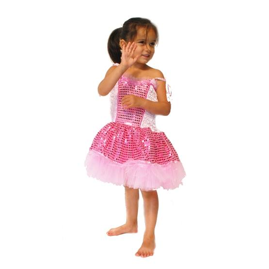 Minisa - Dress Prinsessa Disco Pink