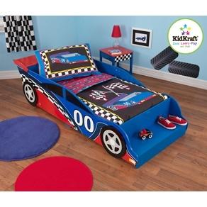Sängar - Kidkraft - Barnsäng - Racerbil