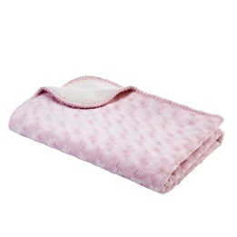 Baby Dan - Dubbel Fleecefilt - Rosa