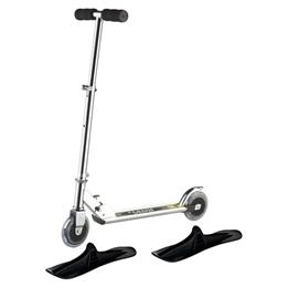 Övrigt Lek - Sparkcykel Med Hjul Och Skidor