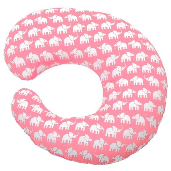 Rätt Start - Amningskudde - Rosa Elefant