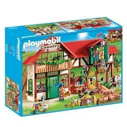 Playmobil - Bondgård - Stor Farm Med Hus