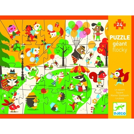 Djeco - Flocky Puzzle, Square
