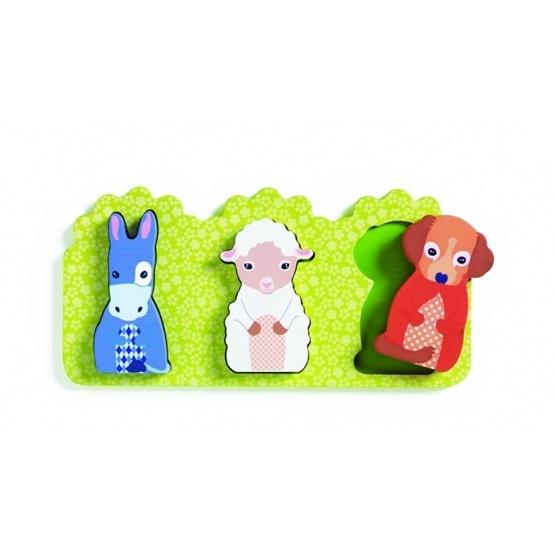 Djeco - Relief Puzzle, Rosalie