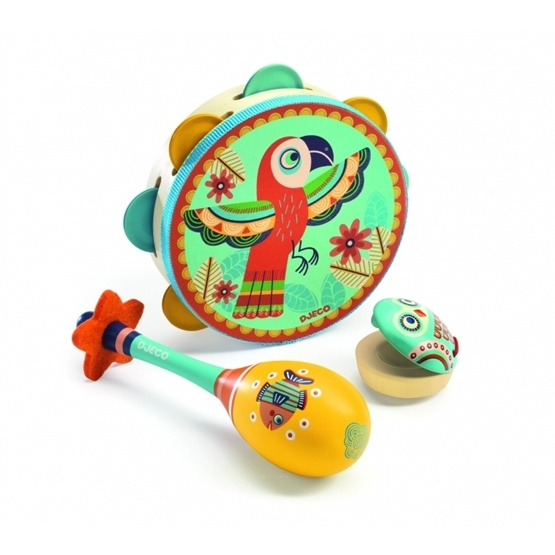 Djeco - Set Of Three Instruments