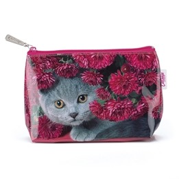 Catseye - Cat With Flowers Small Bag