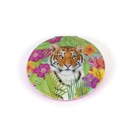 Catseye - Tiger Lily Clam Mirror