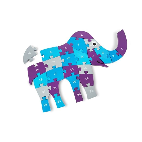 BuitenSpeel - Pussel - Elefant