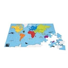 BuitenSpeel - Pussel 54 Bitar - Världen