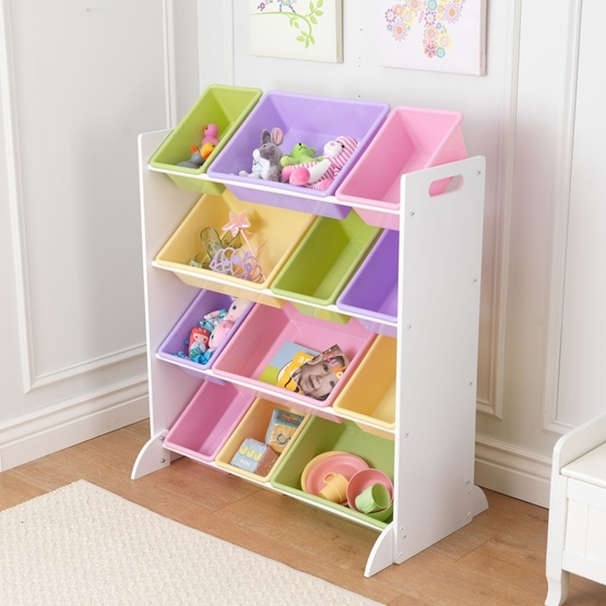 Kidkraft sort it and store it - Meuble de rangement jouets ...