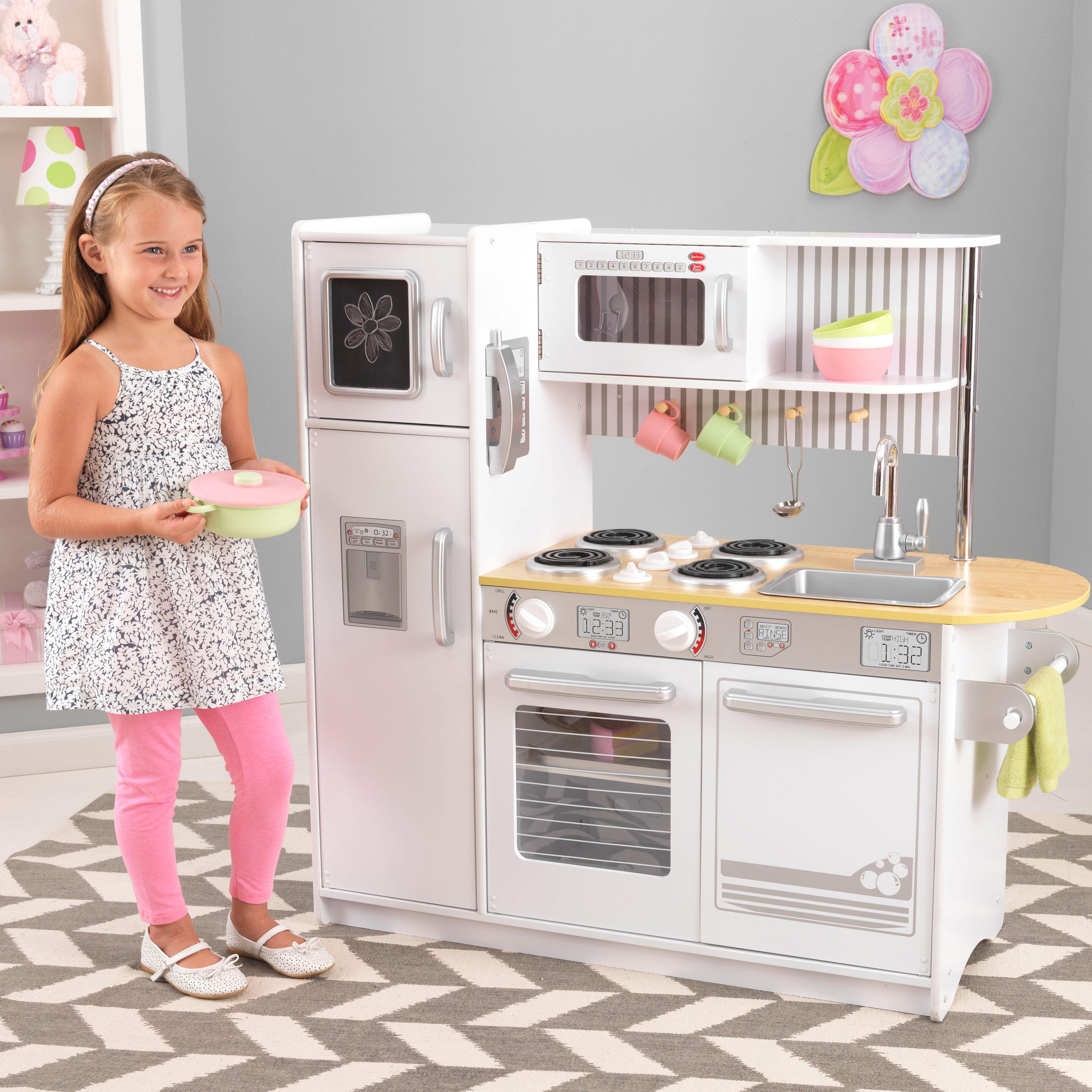 Kidkraft White Kitchen: Uptown Kitchen