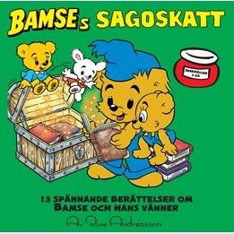 Egmont - Bamses Sagoskatt - CD