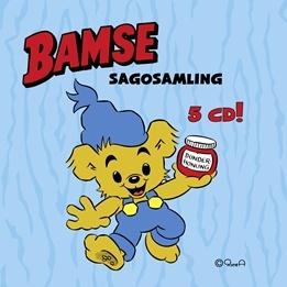 Egmont - Bamse Sagosamling 1 - 5 CD