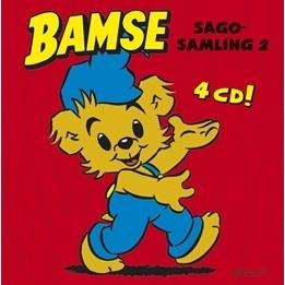 Egmont - Bamse Sagosamling 2 - 4 CD