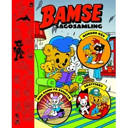 Egmont - Bamse Sagosamling - Bok