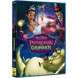 Disney - Prinsessan Och Grodan - Disneyklassiker 49 - DVD