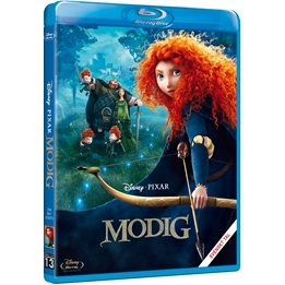 Disney/Pixar - Modig - BluRay