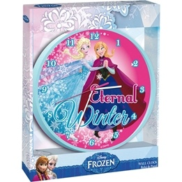 Disney - Frozen/Frost Väggklocka