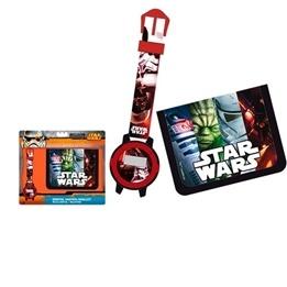 Disney - Star Wars Giftset Armbandsur Och Plånbok