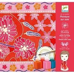Djeco - Silk Painting, Japanese Garden