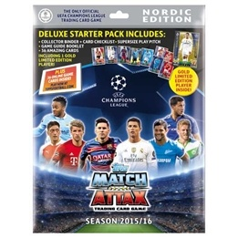 Fotbollskort - Deluxe Startpaket Nordic Edition Topps MA - Champions League 2015-16