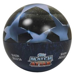 Fotbollskort - Ball Tin Nordic Edition Topps MA - Champions League 2015-16