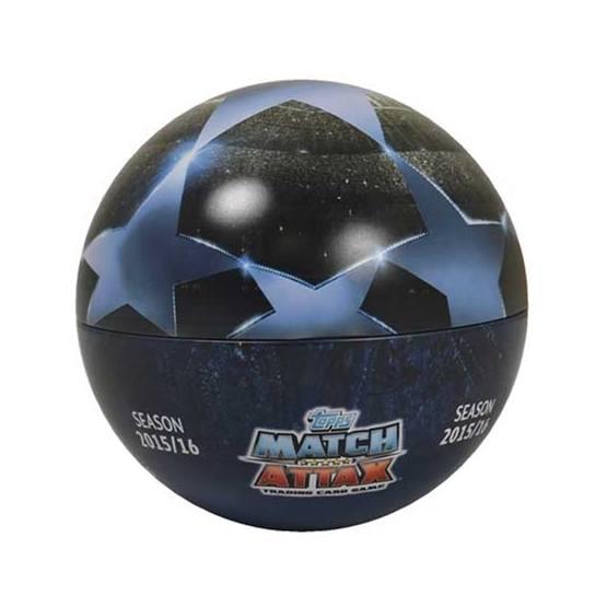 Fotbollskort - Ball Tin Nordic Edition Topps MA - Champions League 2015-16